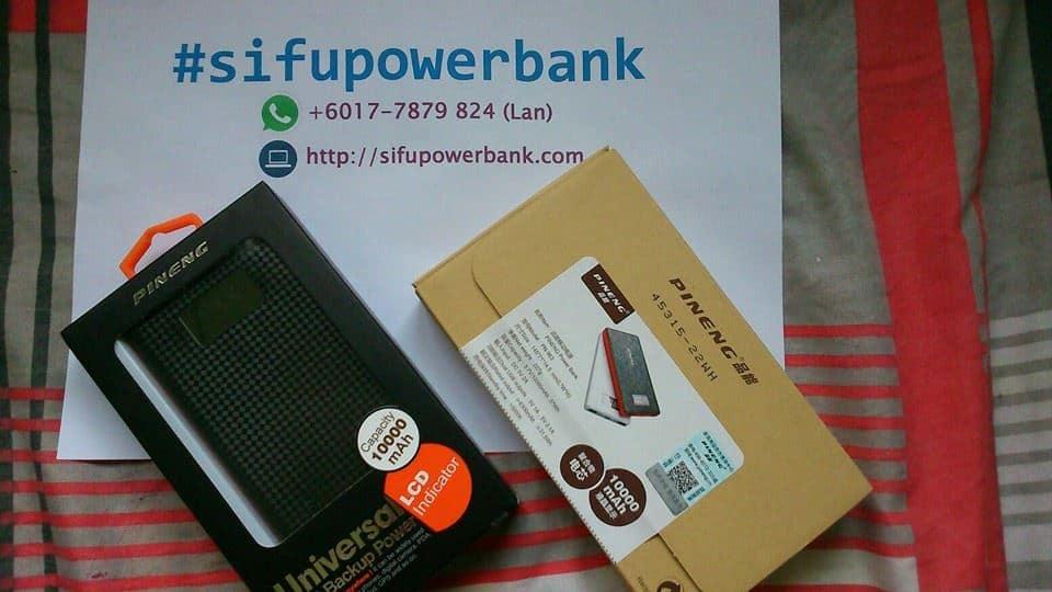 Packaging Power bank Pineng Original