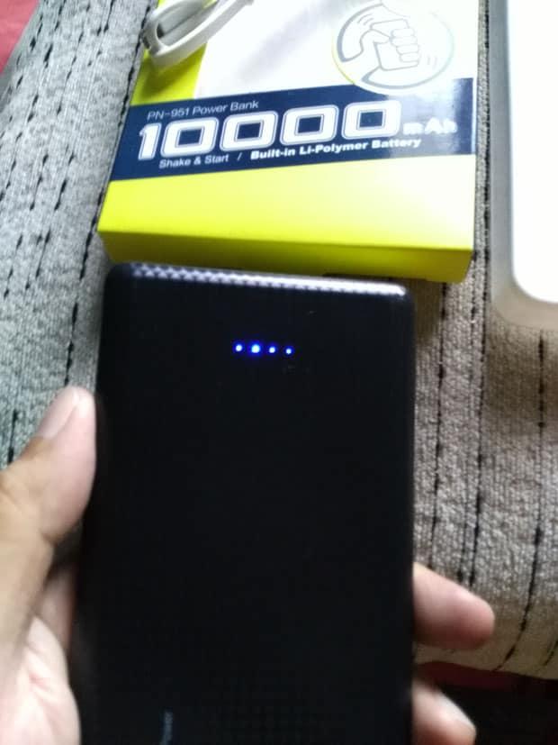 Power Bank 10000mAh Pineng PN-951 Review 8