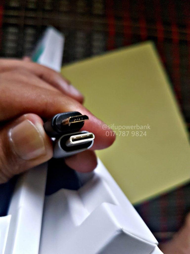 Perbezaan antara Mikro USB dan USB Type C Cable