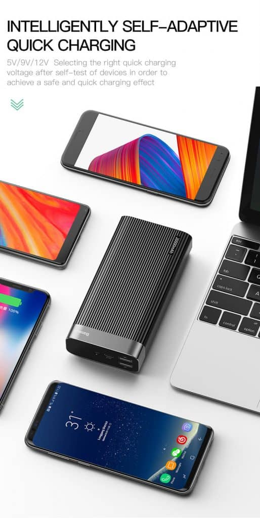 BASEUS Parallel Power Bank 20000mAh Power Delivery 4