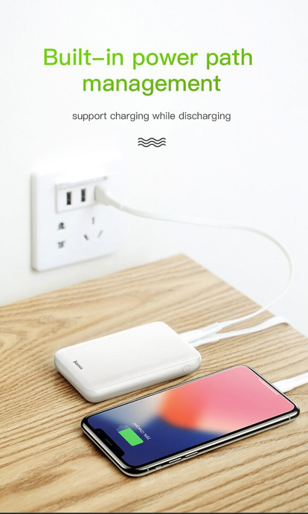 BASEUS Power Bank Mini 10000mAh S Power Delivery 5