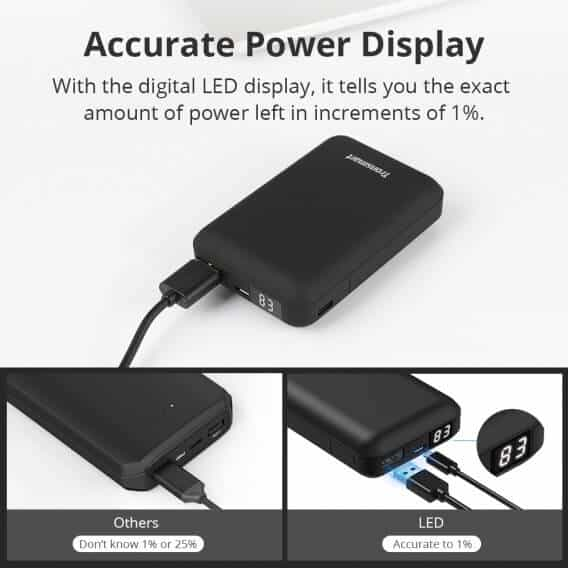 TRONSMART Mini PB10 10000mAH Power Bank 4