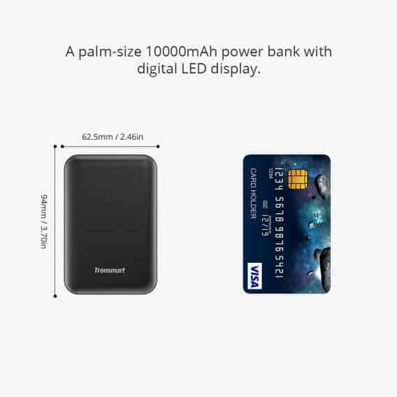 TRONSMART Mini PB10 10000mAH Power Bank 6