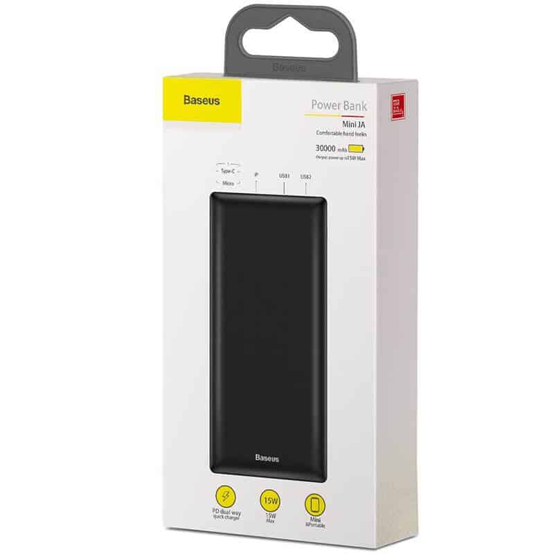 BASEUS Mini JA Power Bank 30000mAh 15W 3A Power Delivery 13