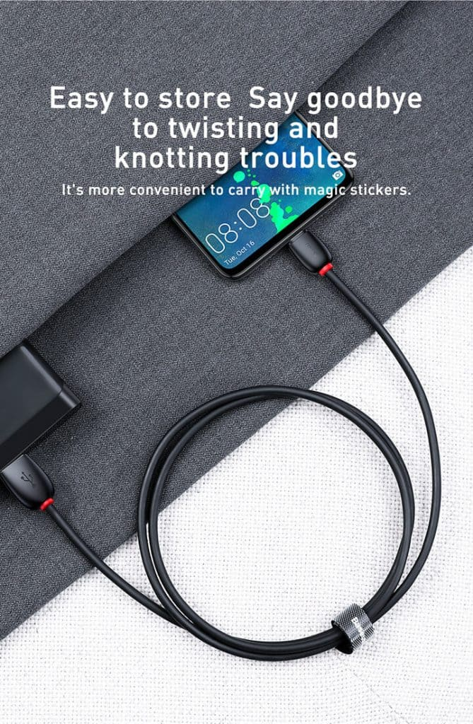 BASEUS USB Type C 40W 5A Support Huawei Super Charge SCP 3
