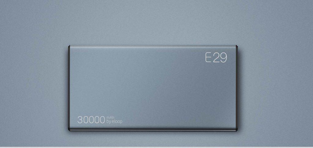 ELOOP E29 Power Bank 30000mAh Quick Charge 3.0 1
