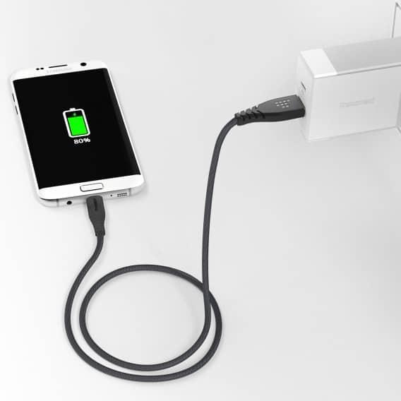 TRONSMART MUCG04 Micro USB Braided Nylon 1 Meter 7