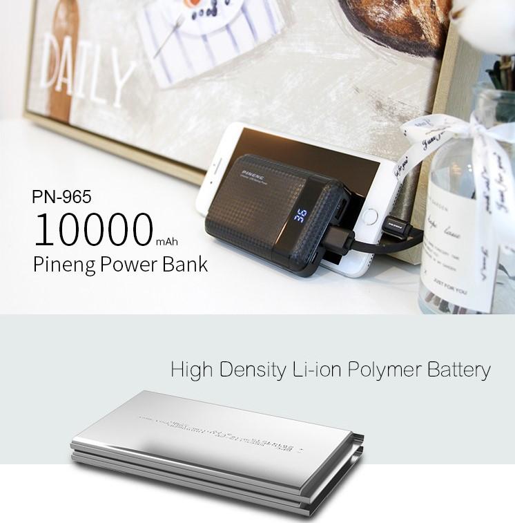 PINENG PN965 Powerbank 10000mAh Mini 1